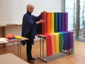 Tove Steinbo: «Fargene har betydning når du har et hode somhalter.